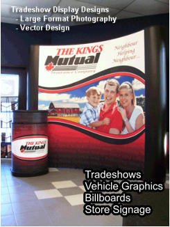 Tradeshows Vehicle Graphics Billboards Store Signage